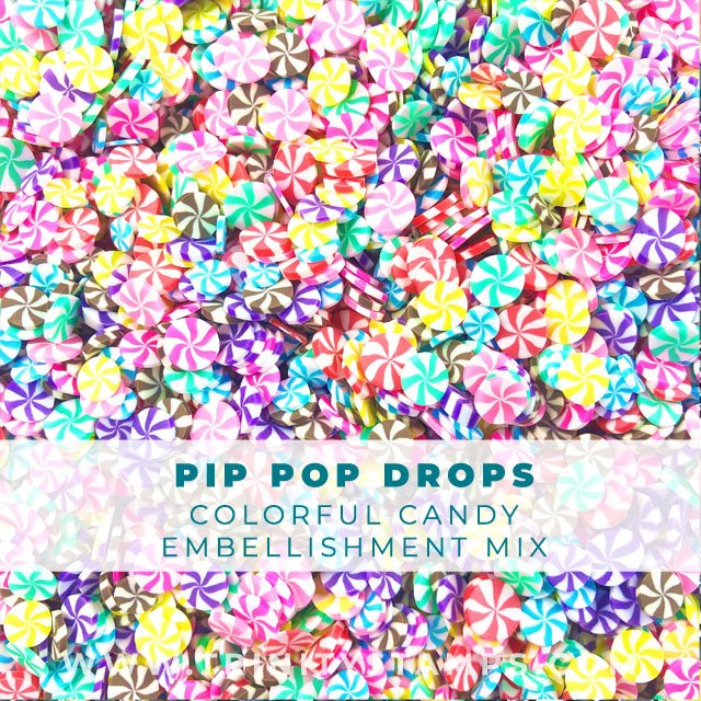 Pip Pop Drops Colorful assortment of candy sprinkles