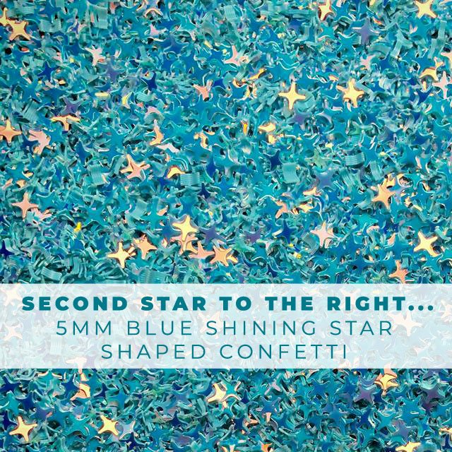 Second Star to the right...- 5mm Shining Star Confetti Embellishment Mix