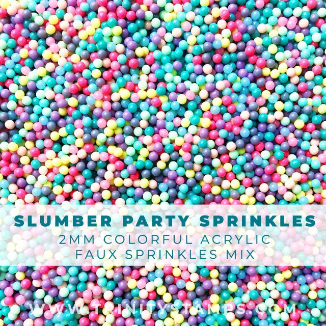2mm bright and colorful Slumber Party sprinkles Mix