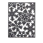 Snowflake A-2 Background die by Darice