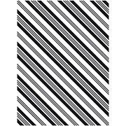 Diagonal Stripe Embossing Folder