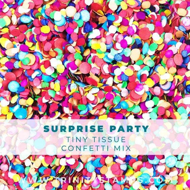 Surprise Party: Tiny Tissue Confetti