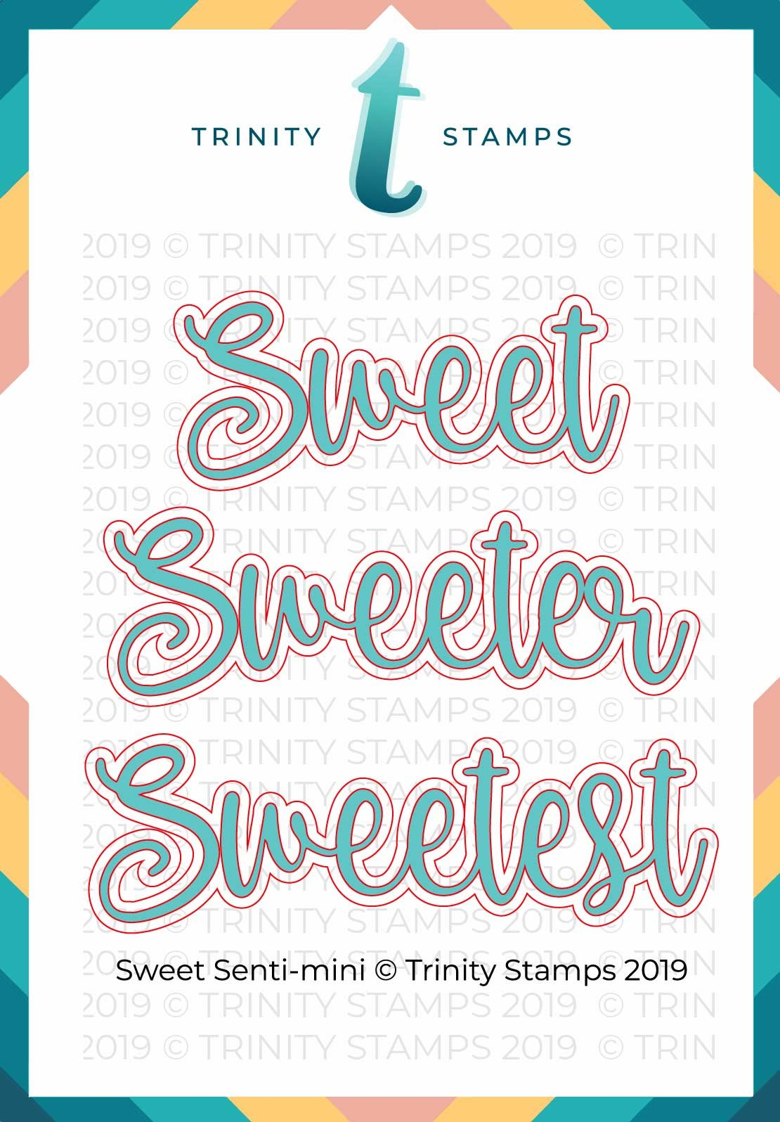 Trinity Stamps Sweet Senti-Mini Die