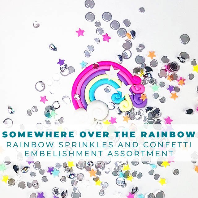 Somewhere Over the Rainbow Embellishment Assortment