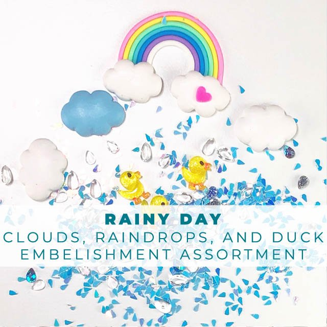 Rainy Day Embellishment Assortment