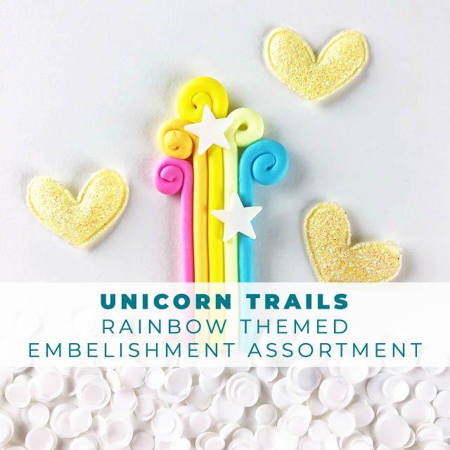 Unicorn Trails Embellishment Assortment