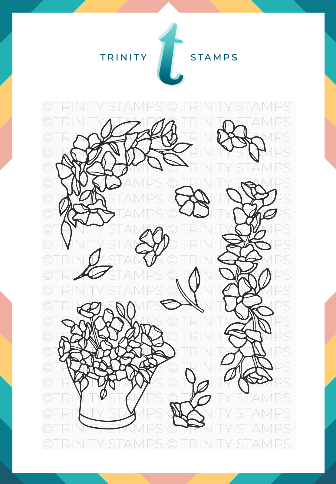 Trinity Stamps - Hopeful Flowers