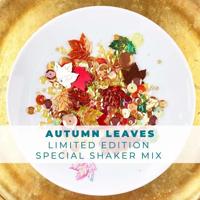 Autumn Leaves Embellishment Mix