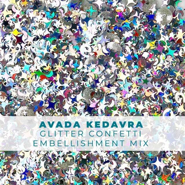 *Magical* Avada Kedavra Glitter Confetti Mix