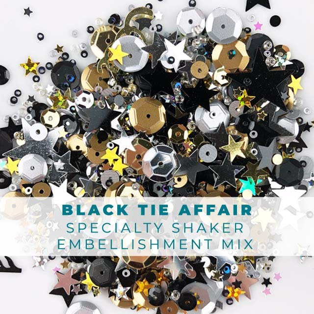 Black Tie Affair Embellishment Mix