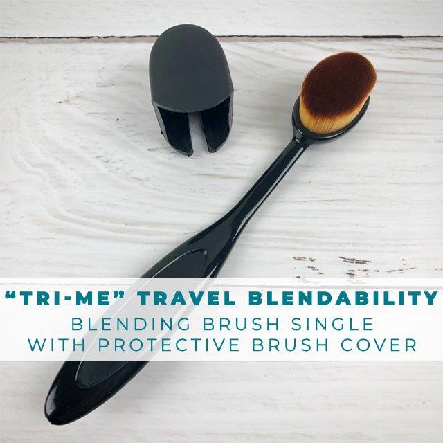 Trinity's Tri-me Travel Blending Brush