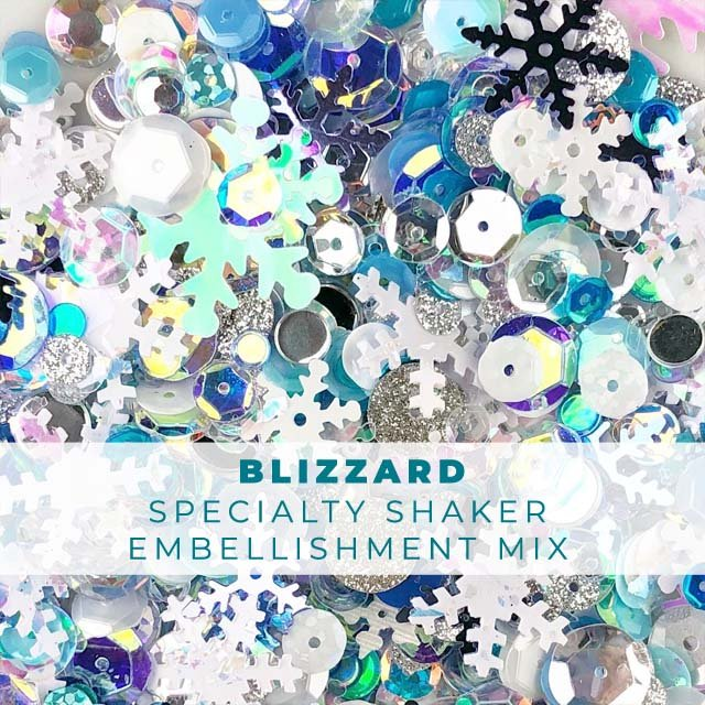Blizzard Shaker Embellishment Mix