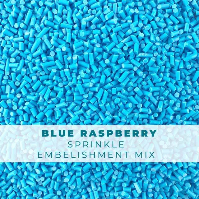 *Sprinkles* Blue Raspberry Sprinkle Embellishments