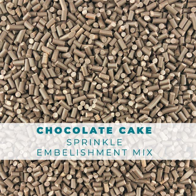 *Sprinkles* Chocolate Cake Sprinkle Embellishments