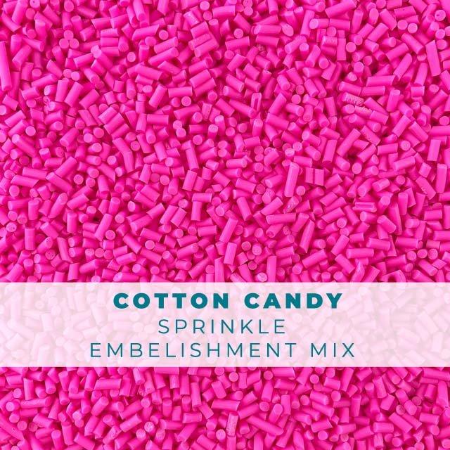 *Sprinkles* Cotton Candy Sprinkle Embellishments