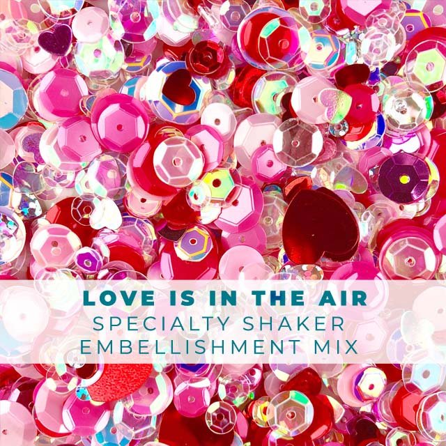 Love is in the Air Embellishment Mix