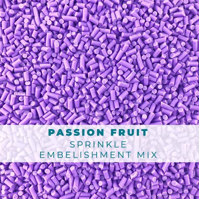 *Sprinkles* Passion Fruit Sprinkle Embellishments