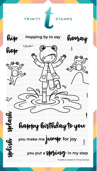 4x6 Puddle Jumpers Stamp Set