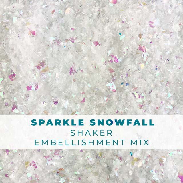Shimmering Snowfall Seasonal Shaker Mix