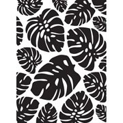 Tropical Palm Leaves Embossing Folder