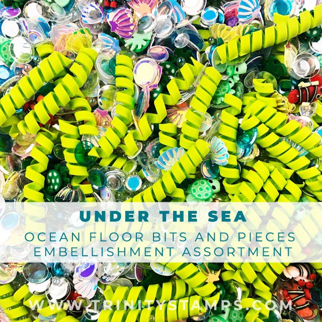 Under The Sea Embellishment Assortment
