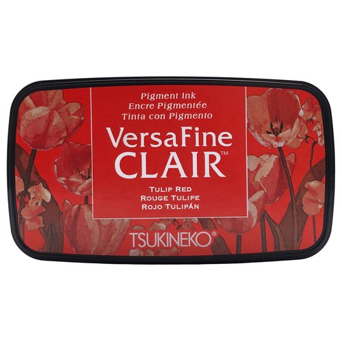 VersaFine Clair Full-size Inkpad Tulip Red