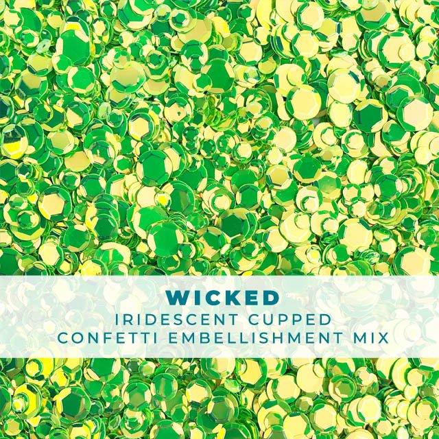 Wicked - Sequin-Like Confetti Mix