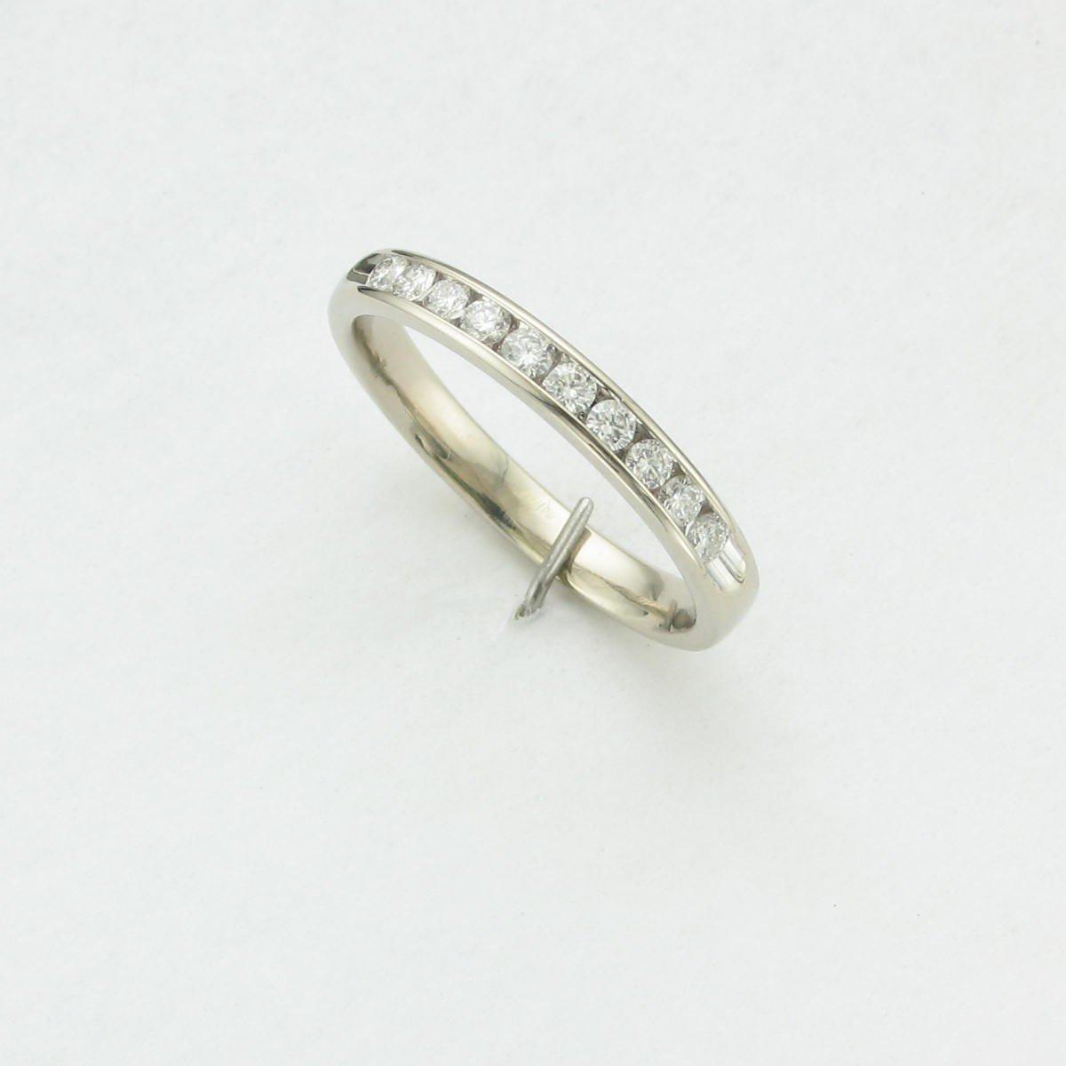0.20tcw Diamond Band Set in 14 Karat White Gold