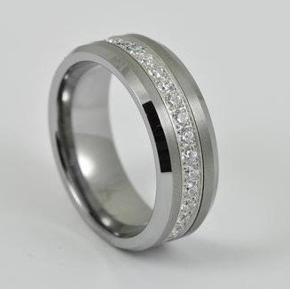 Tungsten and Diamond Band