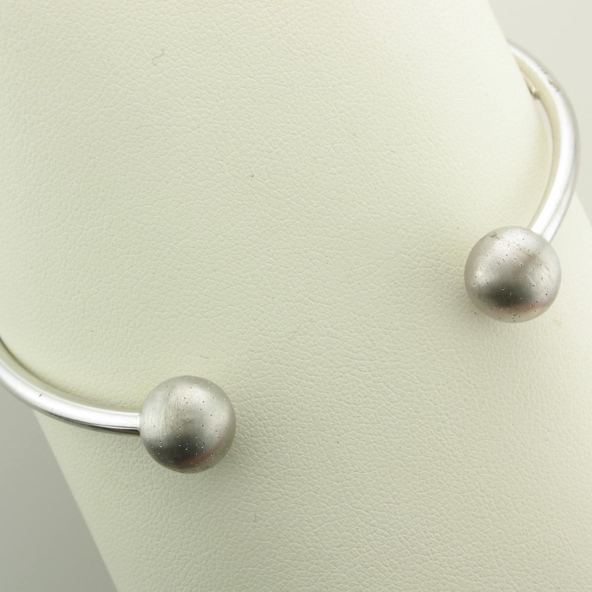 Sterling Silver Stardust Bangle Bracelet