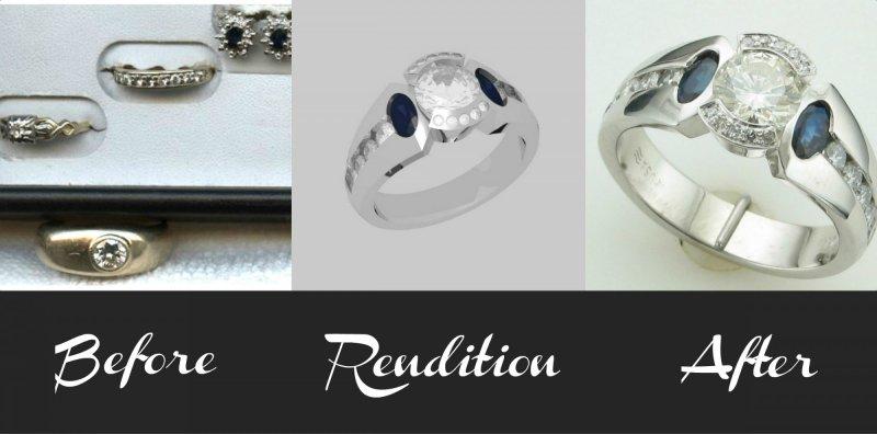 Custom Jewelry Design in Portage, MI.