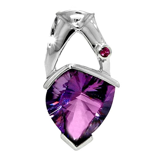 8.38ct Amethyst Pendant set in Sterling Silver
