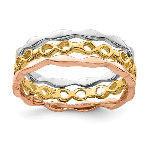 14k Stackable Ring