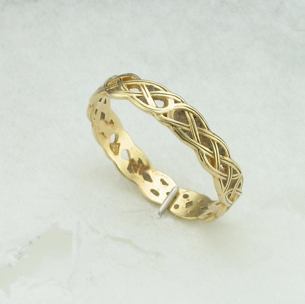Celtic Braided Ring in 14K Gold