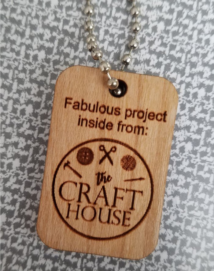The Craft House Project Bag Tag