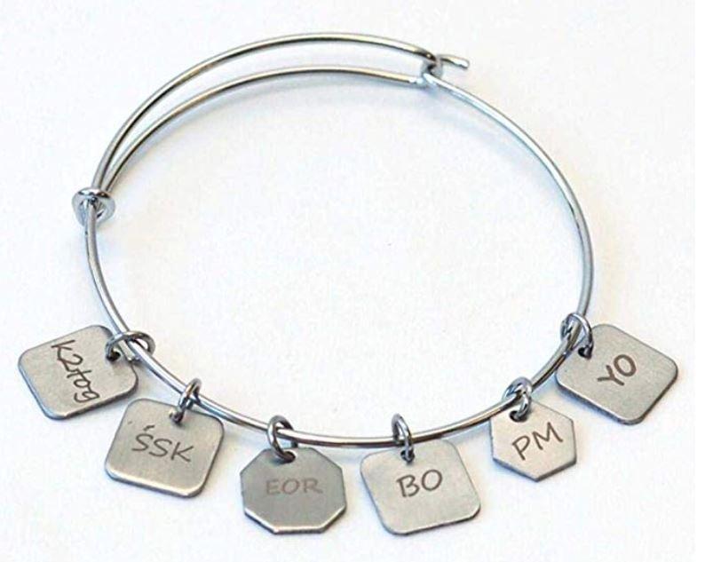 Stitch Marker Charm Bracelet