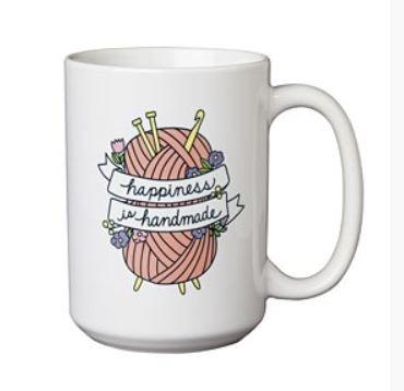 Happiness is Handmade Mug