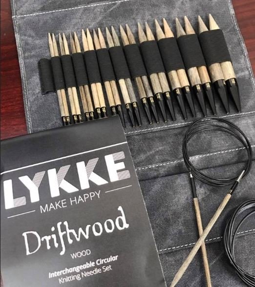 Lykke 5 Interchangable Needle Set