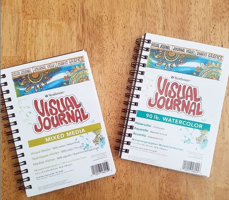 Strathmore Visual Journal 5.5 x 8