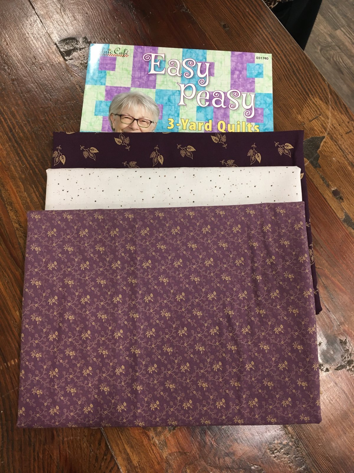 3 Yard Cuts for 3 Yard Quilts