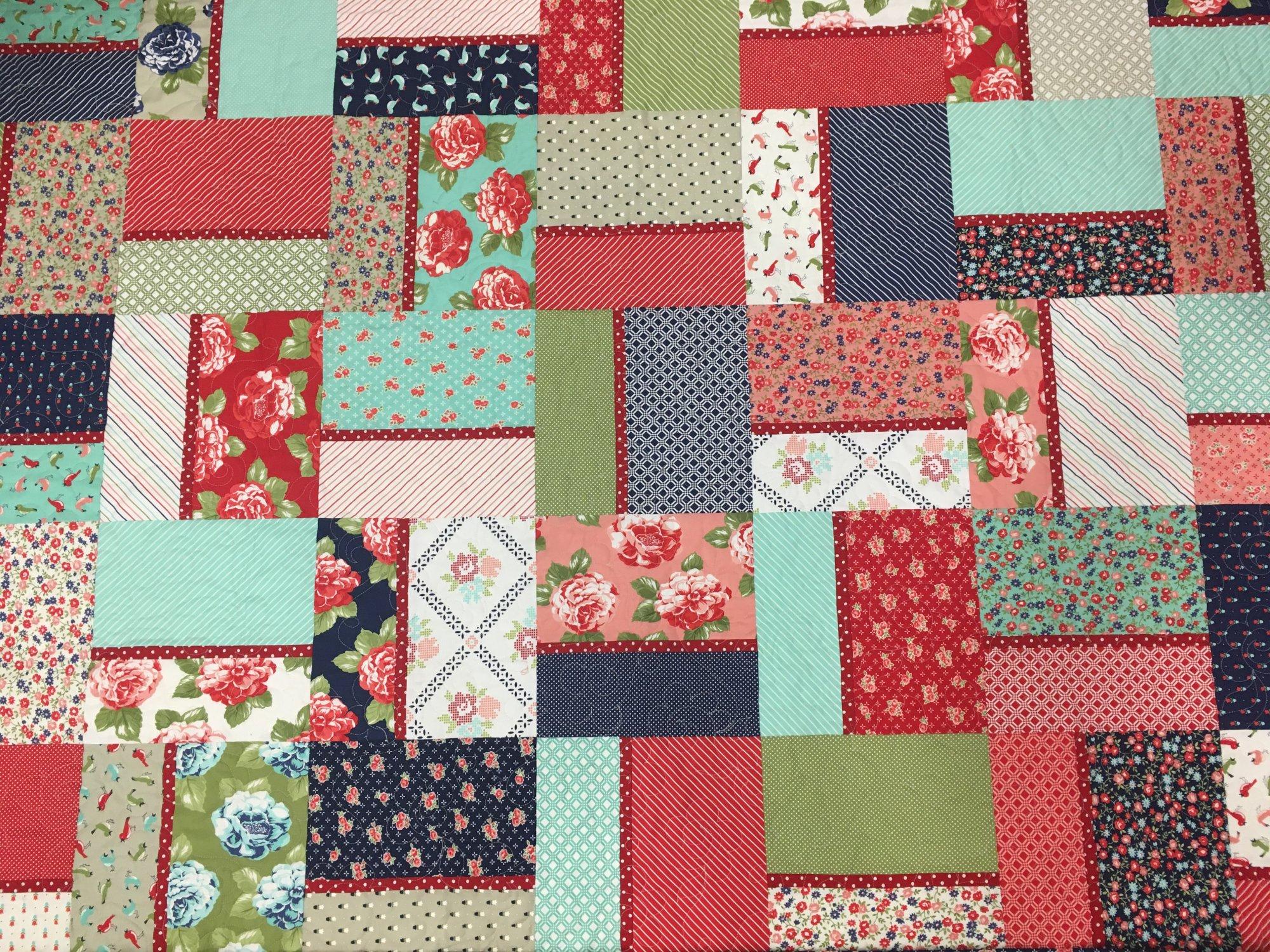 Kit - Color Block - Cotton - without Martelli templates