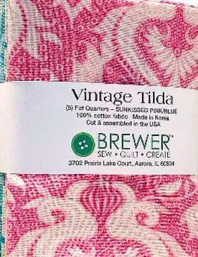 Vintage Tilda Sunkissed Jelly Roll