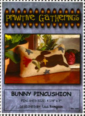 Kit - Pri - 455 Primitive Bunny Pincushion