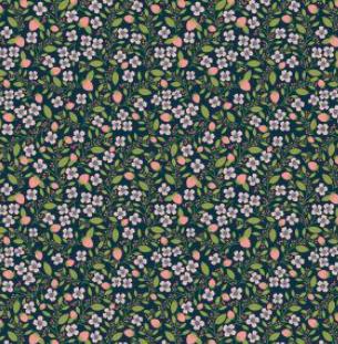 Daisy Mae - Berry Blossoms - Navy - DM20120