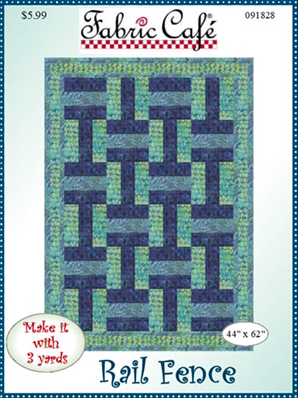 Rail Fence 3 yard quilt pattern