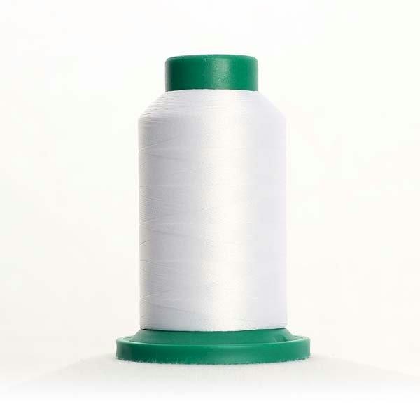 Isacord Thread Silky White 0010