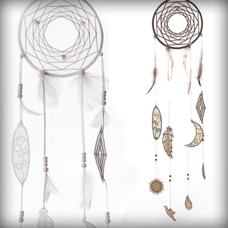 OESD Freestanding Lace Dreamcatcher