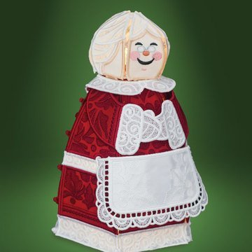 Freestanding Mrs. Claus