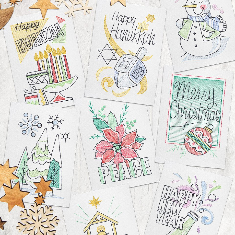 Winter Sentiments Card Collection