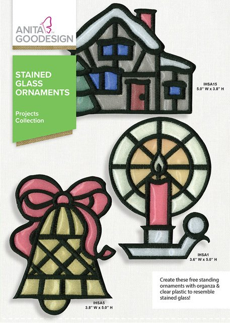 Stained Glass Ornaments Projects Collection